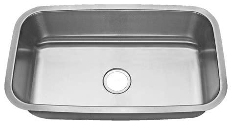 modern kitchen sinks stainless steel premier travajo 18 stainless steel large single 9241