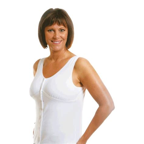 wear ease  dawn post surgical camisole recovery camisole