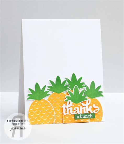 card  jean manis reverse confetti stamp sets