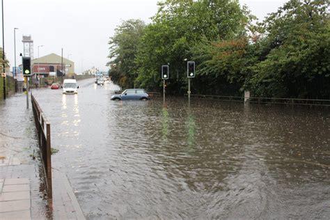 hallam fm newss tweet lots  problems  flooding