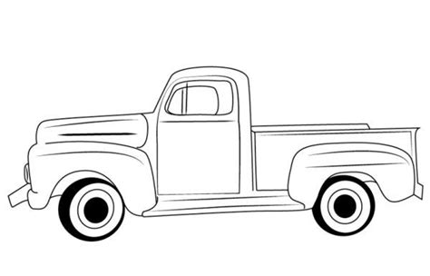 pickup truck coloring pages printable  coloring sheets truck coloring pages classic