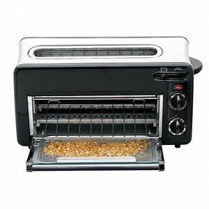 Toaster plus starker Miniofen für Brötchen, Croissants