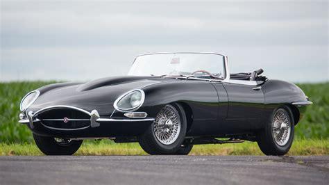 jaguar  type series  flat floor roadster