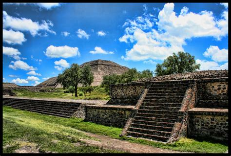 Teotihuacan 01 Hdr By Runaque On Deviantart