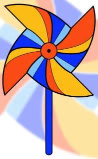 Free Summer Clip Art of Pinwheels
