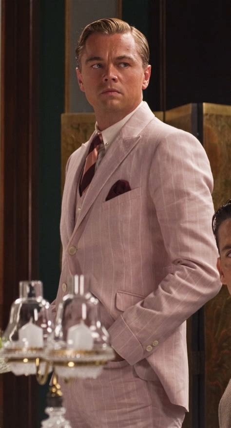 Real Men Wear Pink Dicaprio As Gatsby Bamf Style