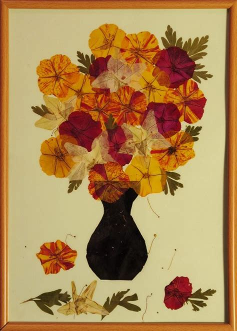 dried flower decor ideas  piece