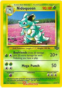 Nidoqueen - Jungle #23 Pokemon Card