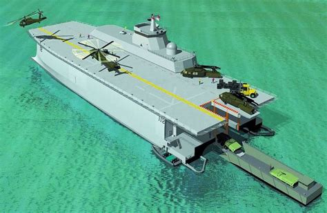 Catamaran Aircraft Carrier Design by Future Warships Concepts Displaying 14 Gallery Images
