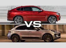 2019 BMW X4 vs 2018 Porsche Macan YouTube