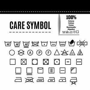 clothes care symbols vector free download With clothing label symbols