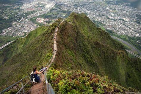 Moanalua Saddle To Haiku Stairs Extreme Hike 47 Photos
