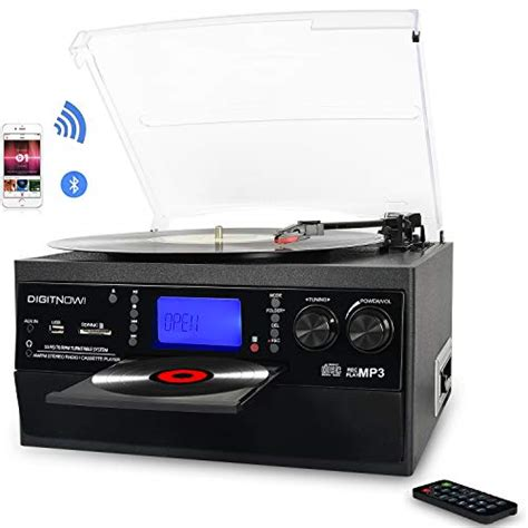 Top 10 Best Turntable Cd Cassette Player in 2021 (Buying ...