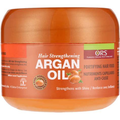 n駮n cuisine ors argan fortifying hair food clicks