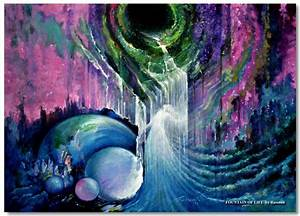 Spiritual paintings, mystical arts by visionary artist ...