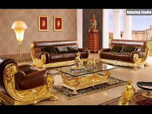 barock stil italienische mobel leder gold tapete mit With design möbel italien