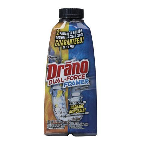 best sink drain cleaner drano 17 oz foaming liquid drain cleaner 014768 the