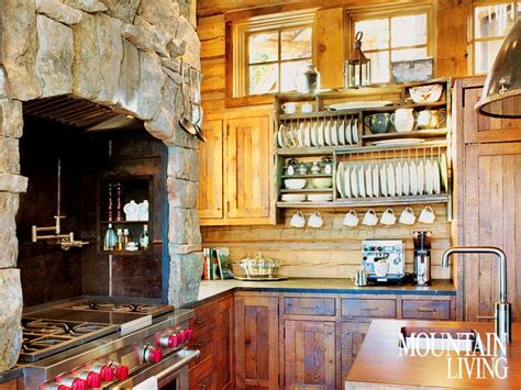 Kitchen Ideas Pinterest - rustic lodge kitchen rustic decor cabin hill country home ideas pinterest stove cabin