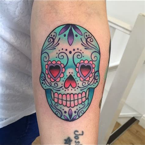 60 Best Sugar Skull Tattoo Designs & Meaning