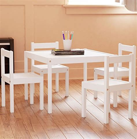 toddler table and chair set table and chairs set white wood children s set with 1 8542