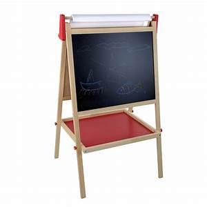 Tableau Enfant Bois : doppelseitige kindertafel standtafel tafel aus holz 56 x 48 x 98 cm ~ Teatrodelosmanantiales.com Idées de Décoration