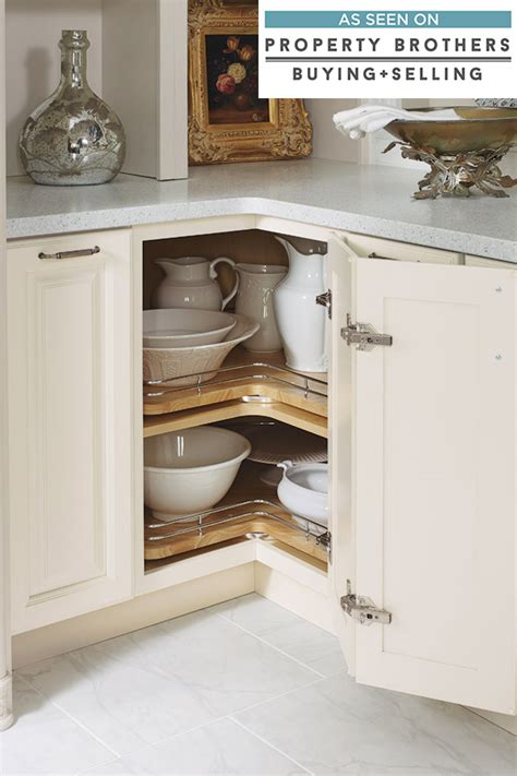 base lazy susan cabinet  chrome rails diamond