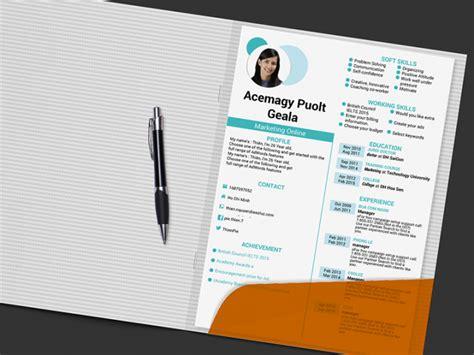 situs  menyediakan desain template cv keren