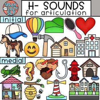 sounds clip art  articulation speech therapy