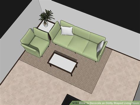 Decorating Ideas For L Shaped Living Dining Room by 3 Ways To Decorate An Oddly Shaped Living Room Wikihow