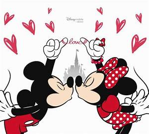 Happy Valentines Day Mickey And Minnie Mouse Picture