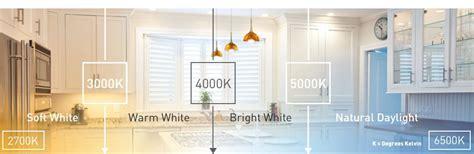 best led color temperature for kitchen light bulbs led cfl halogen and incandescent 9155