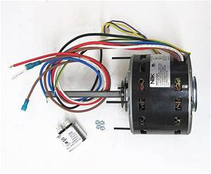 Furnace Air Handler Blower Motor 1  4 Hp 1075 Rpm 230 Volt