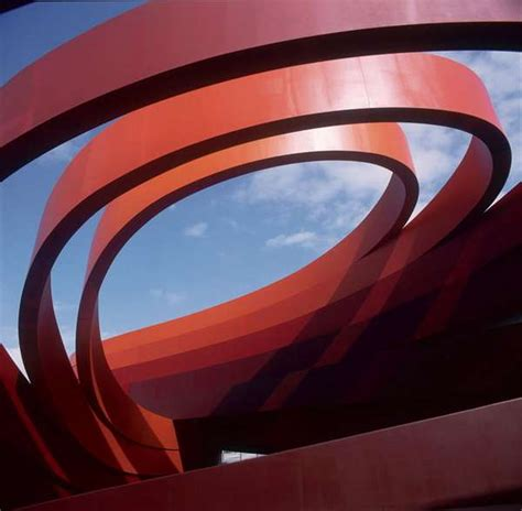 ribbon wrapped architecture  ron arad design museum