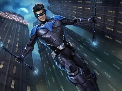 Nightwing Loading Screen Dc Legends Titans Hq