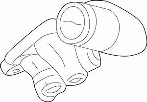 Lincoln Aviator Engine Oil Filter Adapter