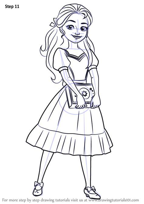 learn   draw princess isabel  elena  avalor