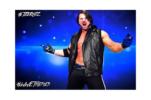 aj styles wwe song mp3 free download