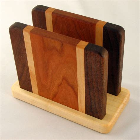 woodworking projects napkin holder   build  easy