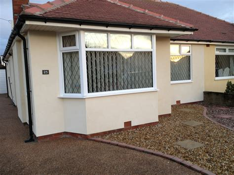 cleveleys plasterers  rend project
