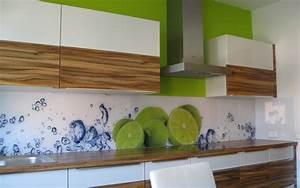 Folie Für Küchenrückwand : erstaunlich k chenwand glas aus die glaswerkstatt cheap ~ Lizthompson.info Haus und Dekorationen