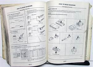 1985 Nissan Maxima Service Shop Repair Manual Model U11 Series