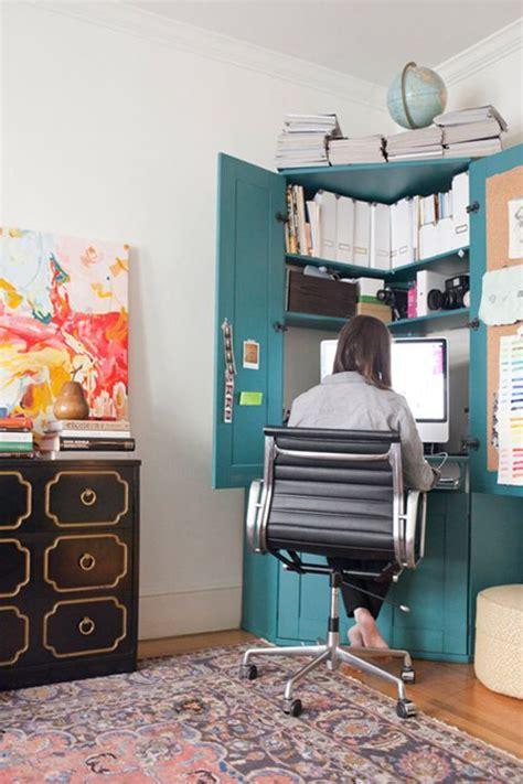 Corner Bedroom Bureau by Transformer Une Armoire En Secr 233 Taire Bureau Bureau
