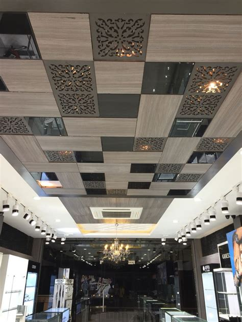 Ceiling Design Types by False Ceiling Designs For Rooms With Higher Ceiling