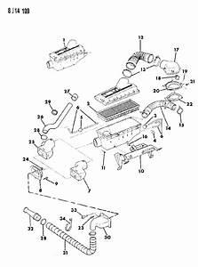1988 Jeep Wrangler Air Cleaner 2 5l Efi Engine Wrangler  Yj