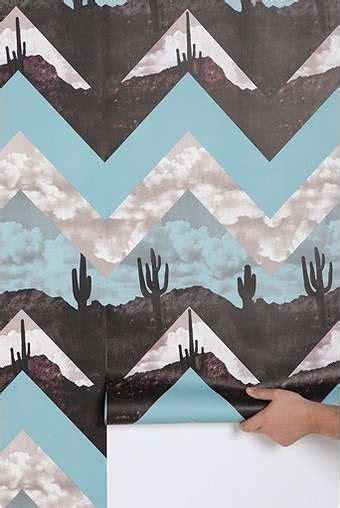 graphic desert inspired decor urban outfitters chevron