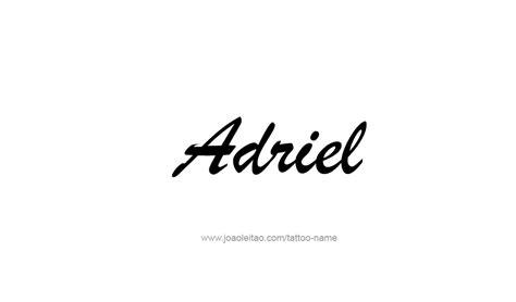 adriel  tattoo designs