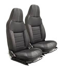 siege avion occasion paire de sièges avant cuir tissu pour defender exmoor trim xs black rack aménagement