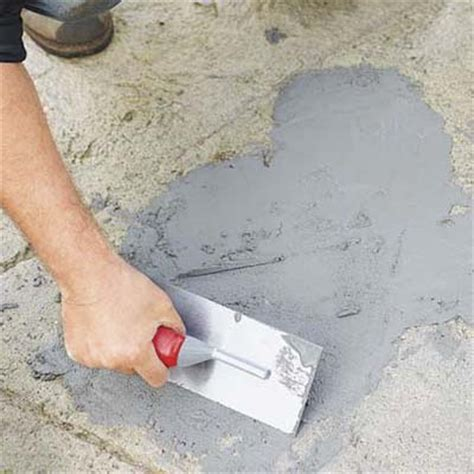 Patch Spalled Areas  How To Resurface Worn Concrete