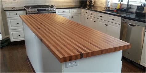 Custom Kitchen Island Ideas - counter tops islands tree purposed detroit michigan live edge slabs reclaimed wood