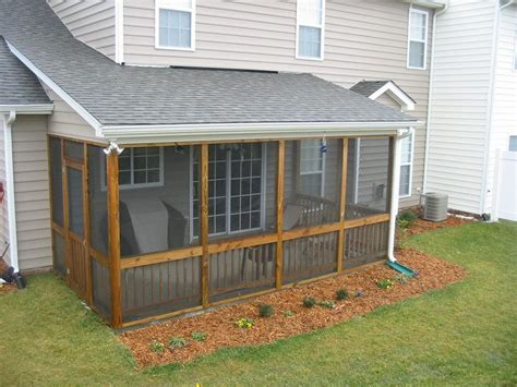 House Plans With Screened Porches by Building A Screened In Porch Easy Mycoffeepot Org